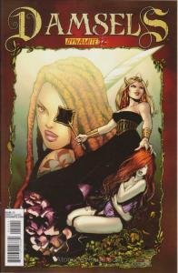 Damsels #12 VF/NM; Dynamite | save on shipping - details inside
