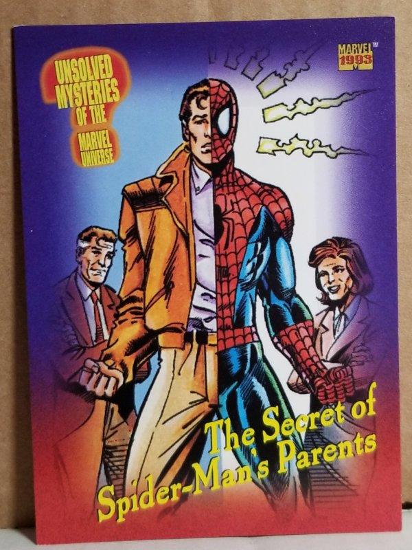 1993 Marvel Universe #143 Secret of Spider-Man's Parents