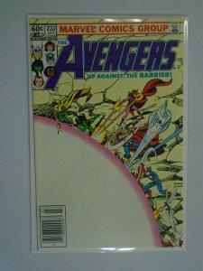 Avengers #233 Newsstand edition 8.0 VF (1983 1st Series)