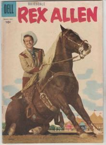 Rex Allen #20 (Mar-56) VG/FN Affordable-Grade Rex Allen, Koko