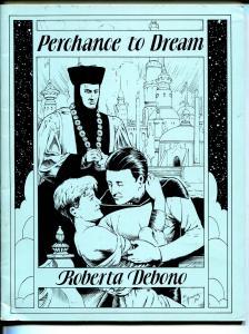 Perchance To Dream 1990-pulp style novel-Roberta debono