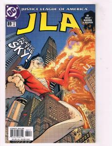 JLA #89 VG/FN DC Comics Comic Book Kelly Plastic Man Dec 2003 DE39 AD12