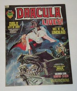 Dracula Lives! #3 Magazine 2nd App Soloman Neal Adams Cover October 1973 Marvel