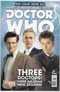 Doctor Who   (Titan)  : FCBD 2015 NM