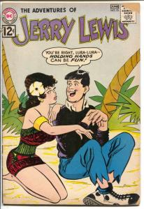 Adventures of Jerry Lewis #44 1960-DC-Mort Drucker-pin-up girl cover-VG-