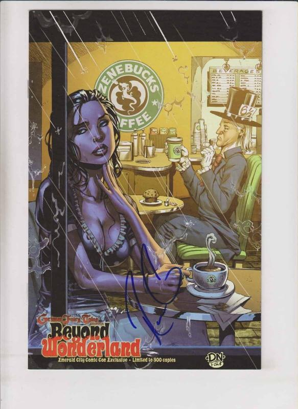 Beyond Wonderland #0 VF/NM signed emerald city comic con exclusive - only 500!