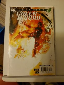 Green Arrow Year One #3 (2007)