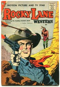 Rocky Lane Western #82 1958-Charlton-rare late issue-VG+