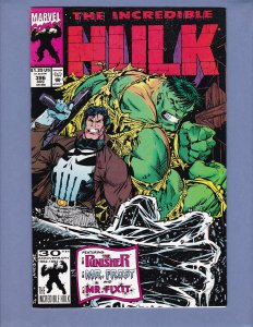 Incredible Hulk #396 VF Punisher Marvel 1992