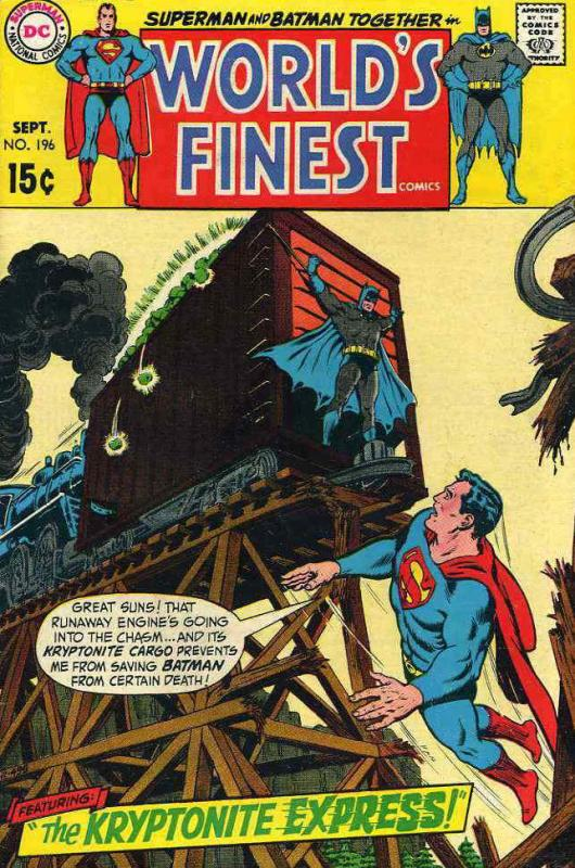 World's Finest Comics #196 FN; DC | save on shipping - details inside