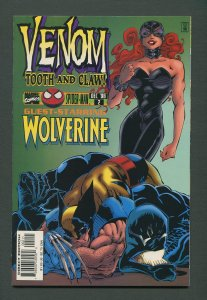 Venom: Tooth & Claw #2 / 9.4 NM - 9.6 NM+ / December 1996