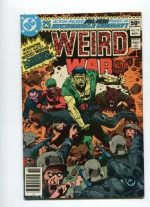 Weird War tales 93 VF 1st App. Creature Commandos