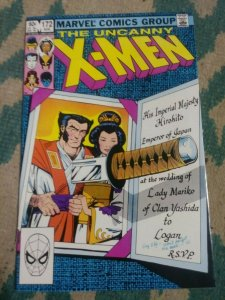 UNCANNY X-MEN # 172 1983 MARVEL WOLVERINE  MARIKO WEDDING CLAREMONT