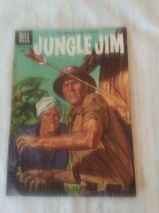 JUNGLE JIM #9 DELL COMIC july sept (1956) silver age VG+