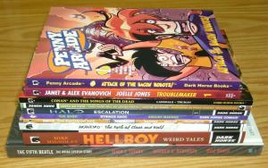 Lot of (10) Dark Horse TPBs/HCs - hellboy - the mask - conan - (value: $203)