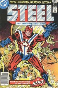 Steel: The Indestructible Man #1, VF- (Stock photo)