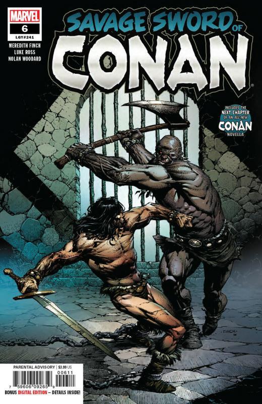 Savage Sword Of Conan #6 (Marvel, 2019) NM