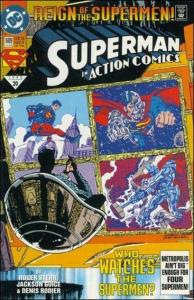 DC ACTION COMICS (1938 Series) #689 VF+