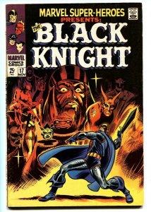 Marvel Super-Heroes #17 Black Knight origin 1968 FN