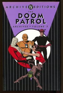 Doom Patrol Archives -Volume 3-Color Reprints-Hardcover