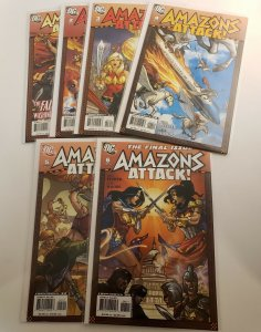 Amazons Attack #1-6 Complete Set High Grade from VF+ to NM DC 2007