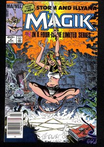 Magik (Storm and Illyana Limited Series) #4 (1984)