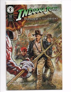 Dark Horse Comics Indiana Jones: Thunder in the Orient #4 Dan Barry Story & Art