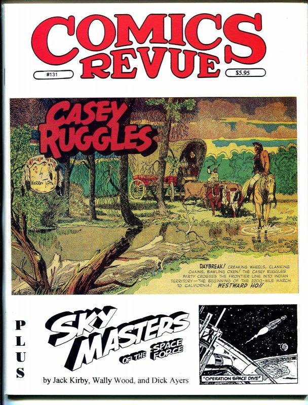 Comics Revue #131 1997-Tufts-Casey Ruggles-Phantom-Modesty Blaise-Tarzan-VF