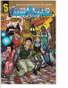 Face Value Comics #1 FN 1st printing - superhero with autism - David Kot 2013