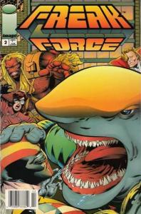 Freak Force (1993 series) #2, NM (Stock photo)