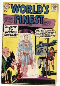 WORLDS FINEST #104 BATWOMAN comic book 1959 DC SUPERMAN BATMAN