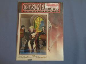 Crimson Embrace Gallery Girls + Signed Ltd Ed. Print Steve Fastner & Rich Larson