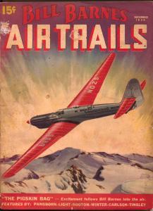 Bill Barnes Air Trails 12/1936-Frank Tinsley cover art-hero pulp-G. L Eaton-VG