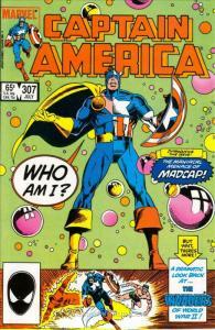 Captain America (1st Series) #307 VF; Marvel | save on shipping - details inside