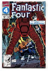 Fantastic Four #359-1991-First appearance DEVOS THE DEVASTATOR.