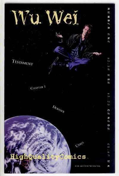 WU WEI #1,Tao, NM, 1995, Oscar Stern, Independent comic,more indies in our store