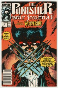 Punisher War Journal #6 | Wolverine Appearance | Jim Lee Art (Marvel, 1989)