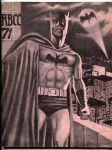 Rocket's Blast Comicollector #71 1970- Fanzine Fandom FN