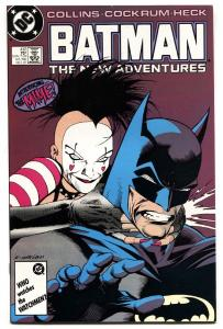 BATMAN #412-comic book 1987-First appearance of the MIME