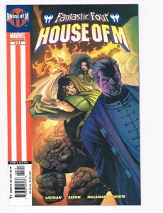 Fantastic Four House Of M # 3 NM Marvel Comics Limited Series Thing Doom S93