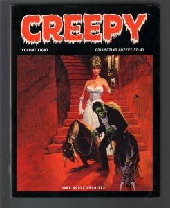 Creepy-Vol.8-#37-41-Nicola Cuti-Phil Seuling-Hardcover-2010