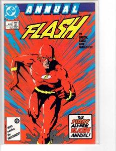 Flash Annual (1987) #1 VF+ (8.5)