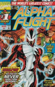 Alpha Flight (2nd Series) #1 VF/NM; Marvel | save on shipping - details inside