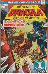 Tomb of Dracula(vol. 1) # 42 Blade and Dracula vs Doctor Sun