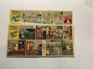 Peter Pan Newspaper Comic Strip 1/4/1953-6/14/1953 Complete Disney