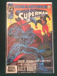 Superman The Man of Steel #23 Reign of the Supermen
