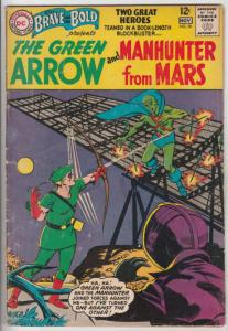 Brave and the Bold, The #50 (Nov-63) VG+ Affordable-Grade Martian Manhunter, ...