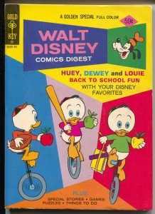 Walt Disney Comic Digest #49 1974-Huey, Dewey & Louie-Donald-VF