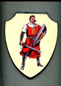 Escudo pared: El Capitan Trueno