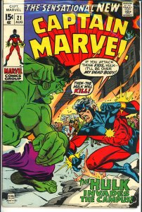 Captain Marvel #21 (1970)